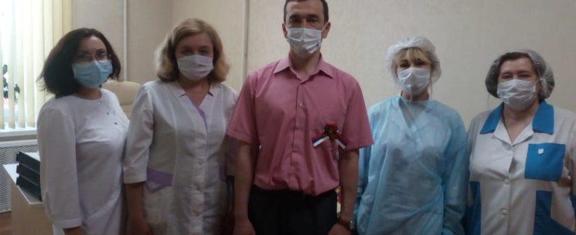 МП РБ продолжает волонтерскую деятельность. В честь дня медицинского работника были переданы продуктовые наборы