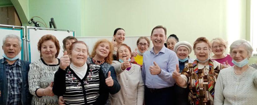 Мероприятие 13.04.2021 г  в  рамках  исполнения  проекта  «Мы вместе ! Психологическая поддержка пожилых людей 70+  в период  пандемии Covid-19» при  поддержке  Фонда Президентских грантов РФ